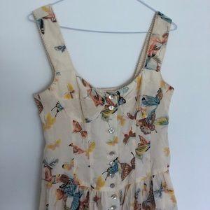 Nanette Lepore Butterfly Garden Dress